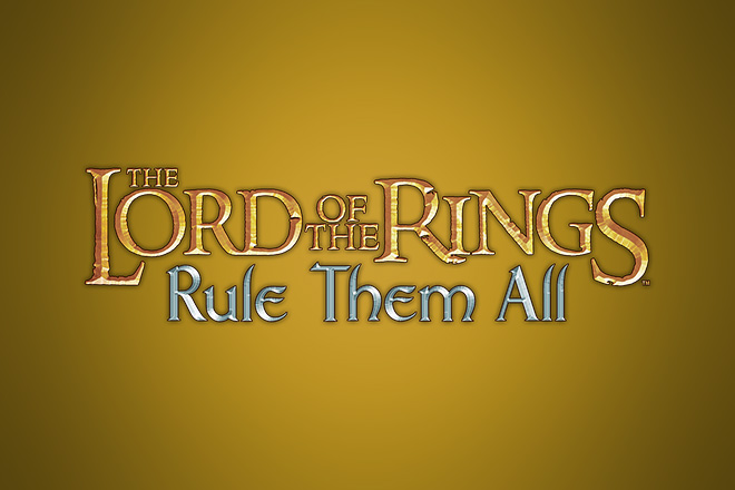 The Lord of the Rings Rule Them All