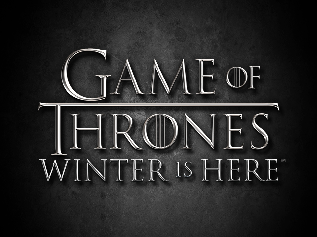 Game of Thrones Winter is Here Logo