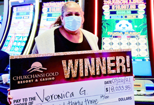Veronica G from Fresno $18,033 winner