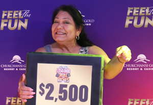 Maria A. from Bakersfield $2,500