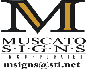 Muscato Signs Incorporated Logo
