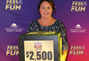 Sherry D. from Hanford $2,500